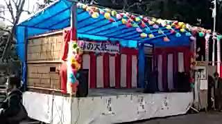 田島氷川社の春の大祭