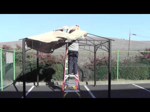 How To Install A Canopy For The Target Madaga Gazebo