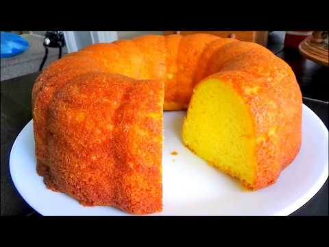 Easy Lemon Pound Cake (Cake Mix Pound Cake)