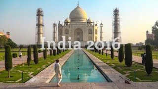 India 2016 - Travel Backpack Video
