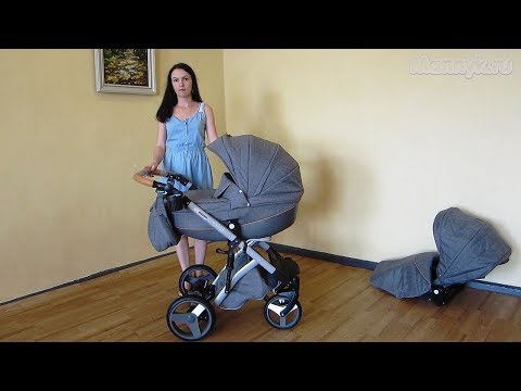 Коляска 2 в 1 Lonex Comfort Prestige  (Лонекс Комфорт Престиж) Видеообзор от Mannyk.ru