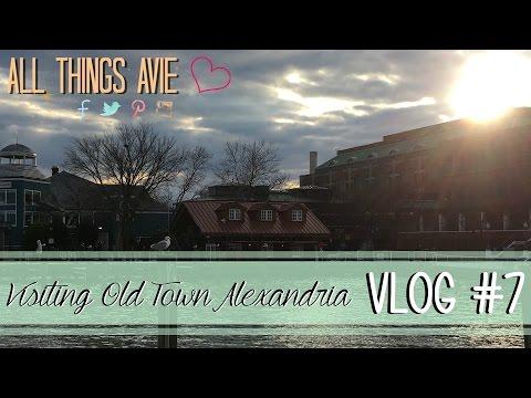 VLOG #7 | Visiting Old Town Alexandria, VA