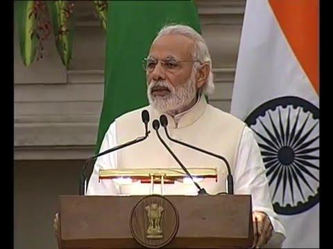 PM Modi's address at the Joint Press Statement between India & Maldives in New Delhi