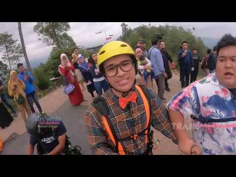 BROWNIS - Anwar Takut Ketinggian Dipaksa   Naik Paralayang (7/9/19) Part 1