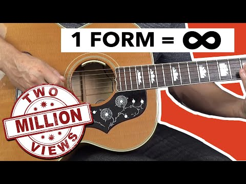 Know ONE Guitar Scale Form, Know Them ALL