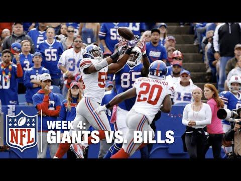 Giants LB Devon Kennard Snatches 1st Career INT Against Tyrod Taylor | Giants vs. Bills | NFL