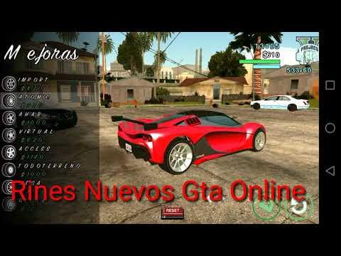 REVIEW MOD PROJECT V V1.6 GTA SA ANDROD