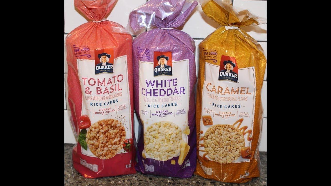 Quaker Rice Cakes Tomato Amp Basil White Cheddar And