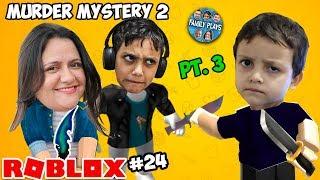 ROBLOX-The Beast está suelto (MURDER MYSTERY 2) Parte 3 Juega en familia