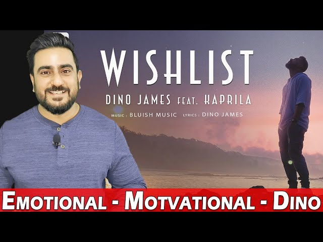 Dino James - Wishlist feat. Kaprila | Official Music Video | Reaction