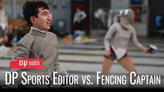 DP Sports Editor vs. Fencing Sabre Captain Miranda Gieg