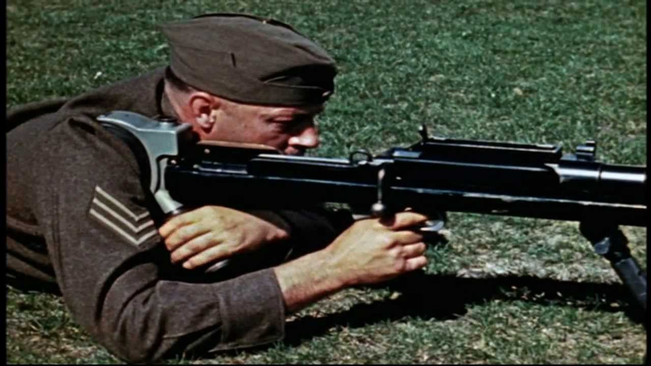 Stop That Tank! Disney Training Film on the Boys Anti-Tank Rifle, complete & high-res