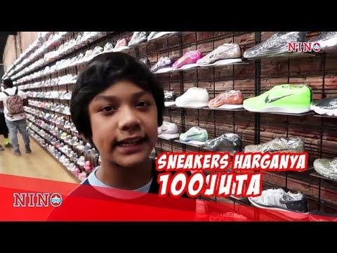 Sneakers seharga 100jt lebih!!! Beli atau ga ya?? #USAtrip