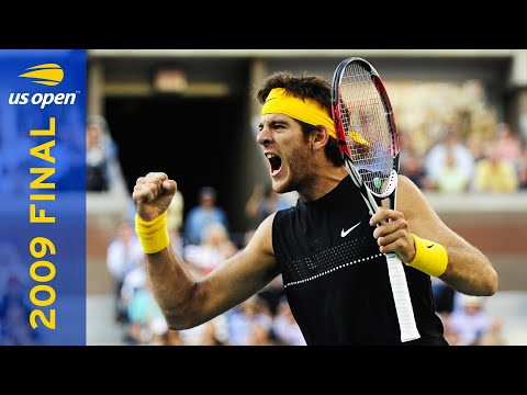 Juan Martin Del Potro Vs Roger Federer Full Match | US Open 2009 Final