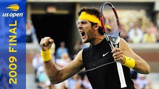 Juan Martin del Potro vs. Roger Federer   2009 US Open Final   Full Match