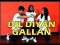 Dil Diyan Gallan song Tiger Zinda Hai | Vicky & Aakanksha ft Anmol