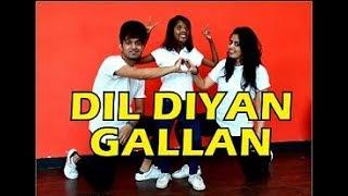 Dil Diyan Gallan - Dance choreography | Tiger Zinda Hai | Vicky & Aakanksha ft Anmol