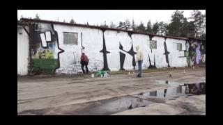 Graffiti Orme Crew Time Lapse Poland