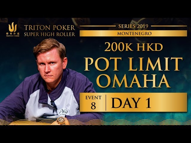 Triton Montenegro 2019 - Pot Limit Omaha €22K - Day 1