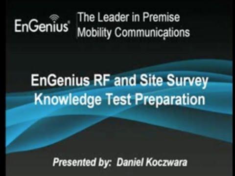 RF and Site Survey Webinar