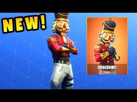 Fortnite - NEW CRACKSHOT Gameplay thumbnail