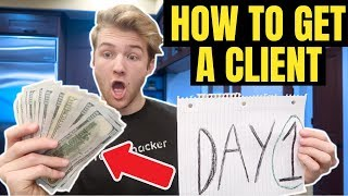 How To Get Your FIRST SMMA Client ON DAY 1 (Easy Sales Strategy)