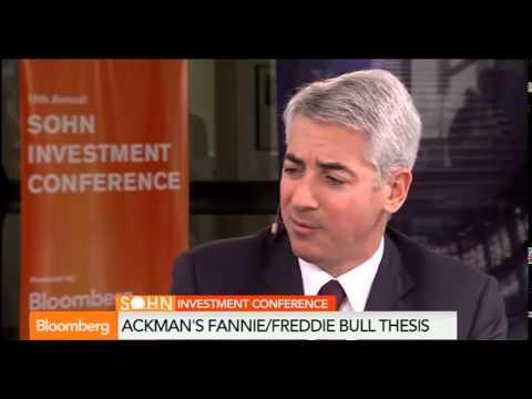 Bill Ackman Bullish On Freddie Mac/ Fannie Mae & Allergan
