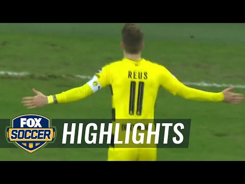 Marco Reus returns from injury with a stunning goal | 2017-18 Bundesliga Highlights