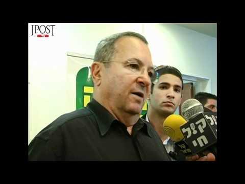 Ehud Barak on the flotilla