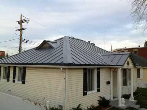 Peinture de toiture qu bec peinture pour tole galvani - Toiture en tole ...
