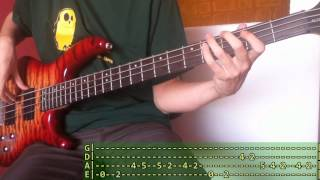 [TABS!] Arctic Monkeys - Why'd You Only Call Me When You're High? (Bass Cover)