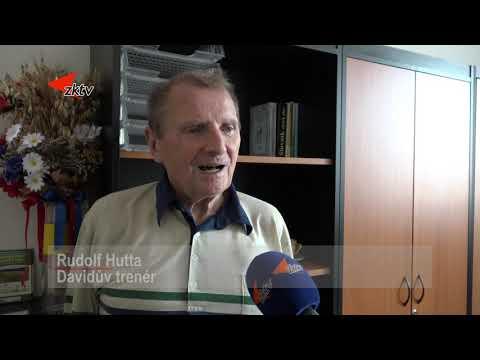 Plavec David Kratochvíl dostal pozvání na radnici