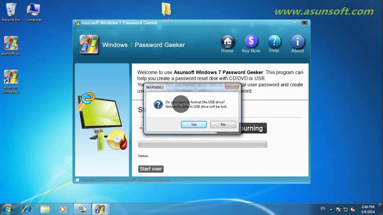 How to Unlock Windows 7 Laptop/Desktop without Password