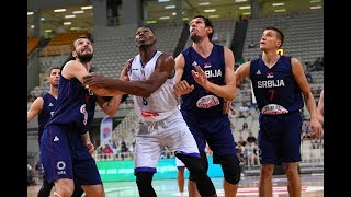 Serbia Italy 96-64 Preparation game highlights for FIBA Basketball World Cup 2019, August 17