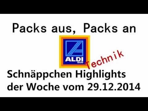 Aldi Süd Tech und Elektro Schnäppchen der Woche 29.12.2014