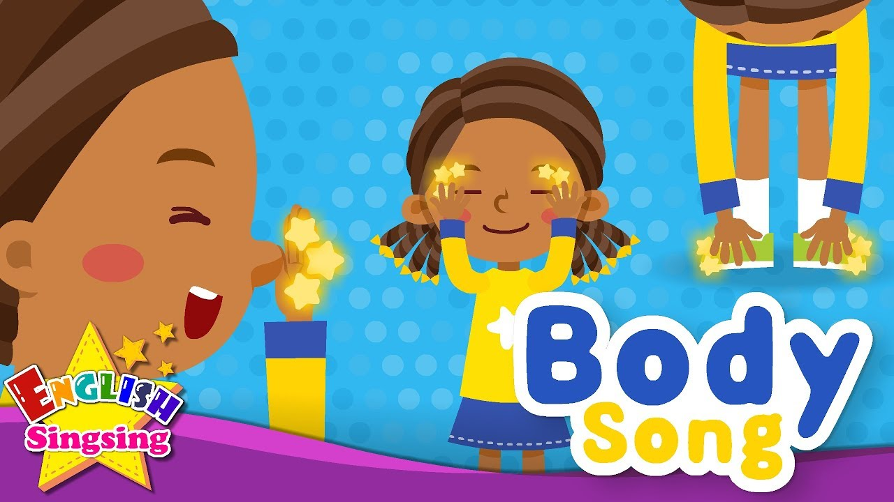 Body Song Educational Children Song Learning English For Kids