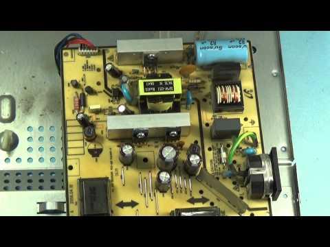 Ремонт монитора SyncMfster 720n выключается подсветка