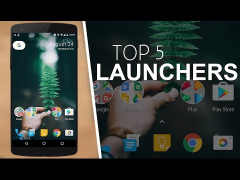 Best Android Launchers 2016 ( Top 5 )