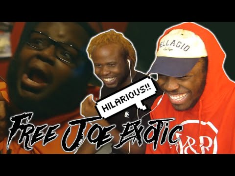 BFB DA PACKMAN x SADA BABY – FREE JOE EXOTIC (REACTION!!) [DEATH FROM LAUGHTER]