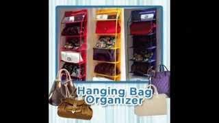 Rak Tas Gantung / Hanging Bag Organizer Mp3