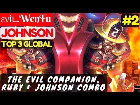 The Evil Companion, Ruby + Johnson Combo [Top Global 3 Johnson] | ενiʟ.WenFu Johnson #3