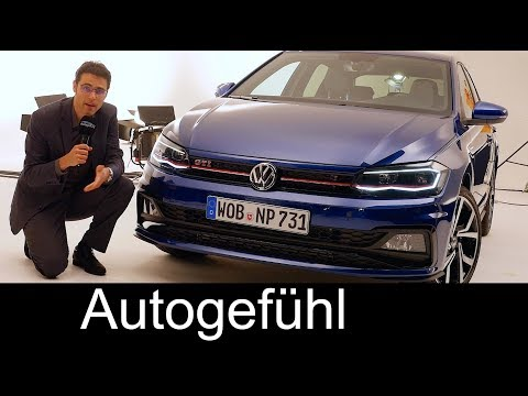 VW Polo GTI Mk6 REVIEW Exterior/Interior/Facts - all-new Volkswagen Polo 2018 - Autogefühl