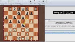 Радостные шахматы. Наблюдаем как играет А. Гельман #3