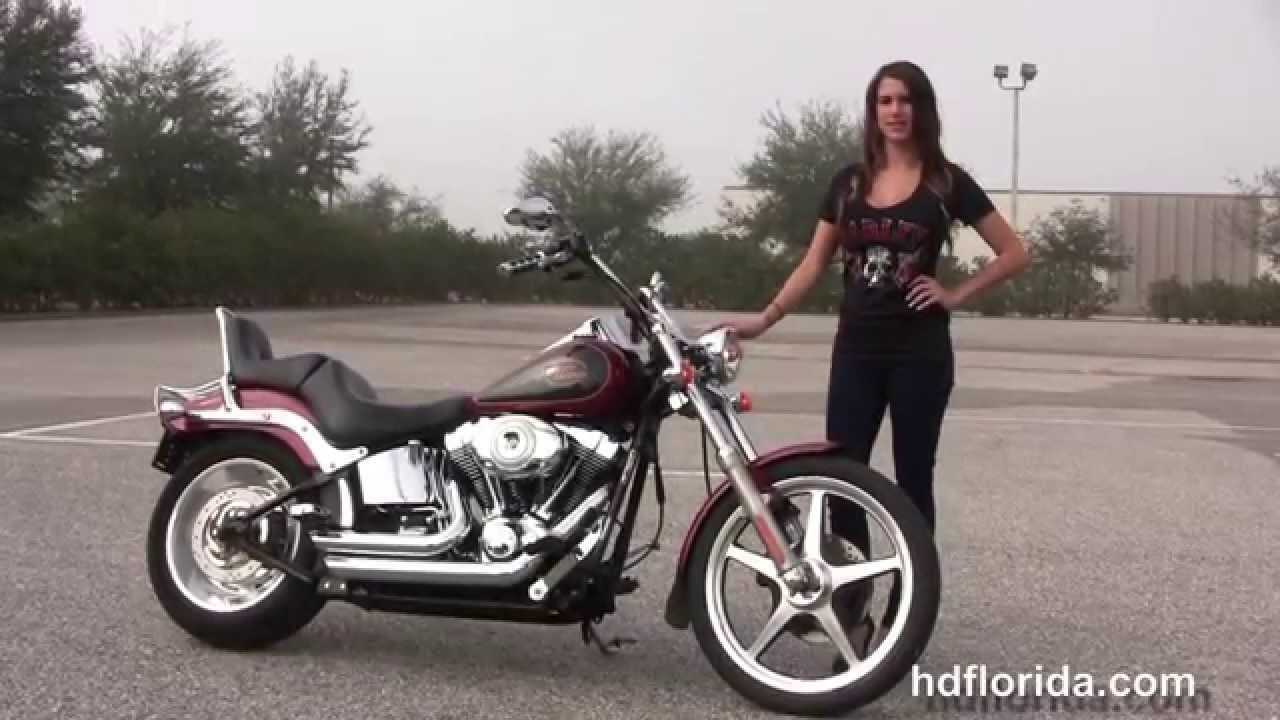 Used 2007 Harley Davidson Softail Custom Motorcycles for sale - YouTube