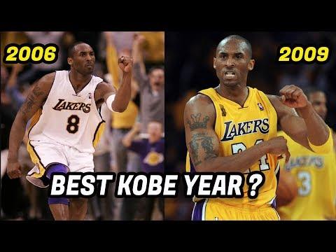 What Year Was Kobe Bryant the Best Version of Kobe? Which Kobe Was Better?