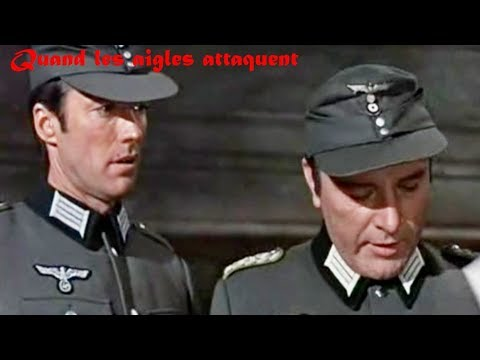 Quand les aigles attaquent 1968 (Where Eagles Dare) -  Film réalisé par Brian G  Hutton Mp3