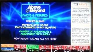 Above Beyond Interview On Bloomberg TV 16 10 2014
