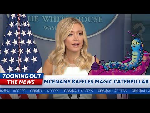 A mystic caterpillar makes sense of Kayleigh McEnany's address