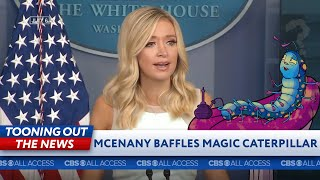 A mystic caterpillar makes sense of Kayleigh McEnany's address