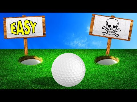 WOULD YOU TAKE THE RISK? (Golf It)
